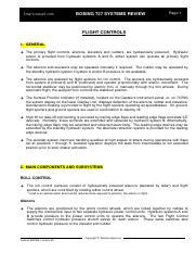 5 b737 flight control systems summary pdf smartcockpit com boeing rh coursehero com B737 Systems B737 Systems