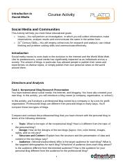 Social Media and Communities_CA.doc