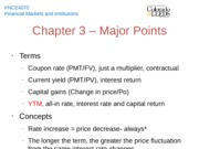 Chapter 3 - Major Points