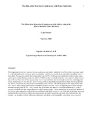 chm 237 lab 10 report Chem 2211l - modern organic chemistry laboratory i free class notes at georgia (uga.
