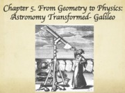 Chapter 5 Galileo
