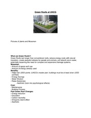 Green Roof Summary
