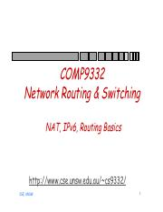 Routing table(Page78-79)