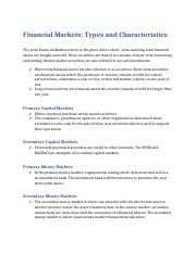 Financial Markets Types.docx