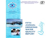 Annual Water Report Worksheet