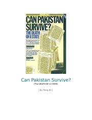Can Pakistan Survive.docx