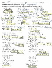 KEY - Complex Numbers Operations - PAP Alg2 2018-19-2.pdf