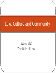 Law, Culture and Community Week 6(2).pptx