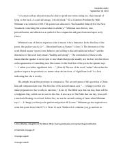 Literary Essay - To A Common Prostitute.docx