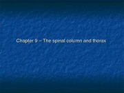 Kinesiology Chapter 9