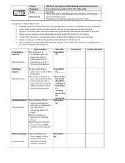 FIN_RMIS 3370 Interview Grade Rubric FALL 2016