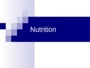 #3 Nutrition - 9 5 2007
