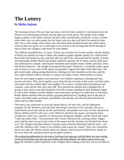 ENG120A The Lottery (1) (1)
