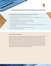 Chapter 1 Introduction to Financial Accounting  (pp.  1-41)