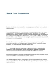 HS 108 (Health Care Professionals)
