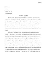 A Lesson Before Dying Essay