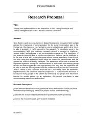 Chatroom Research Project Proposal (LOH) (2)