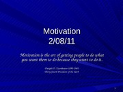 Motivation 2-8-11 post