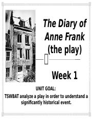 The Diary of Anne Frank PPT Week 1.pptx