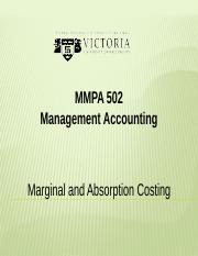 3A. Marginal and Absorption Costing.pptx