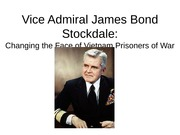 Vice Admiral James Bond Stockdale