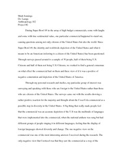 Super Bowl Coke commercial Essay