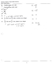 Study Guide for Test with Answers