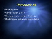 Chapter 7 Con't & 8 PPT with Clicker Questions/Answers