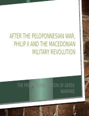 Lecture 15-The Macedonian MIlitary Revolution and Philip II (March 7)