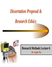 Lecture 6 Research proposal and ethics.ppt