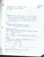 Chapter 4 ~ Phsyics Lecture Notes