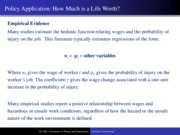 Class 13 - Ch 8 - Compensating Wage Differentials (Part II)