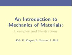 Mechanics of Material Notes