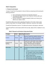 PSY101_W2_Research_and_Analyze_Assignment & Rubric.docx