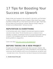 17 Tips for Boosting Your Success on Upwork.docx