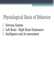 Physiological Basis of Behavior.ppt