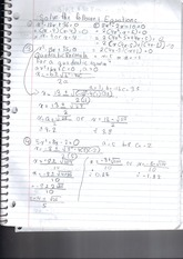 MPM 2DE solving equations notes