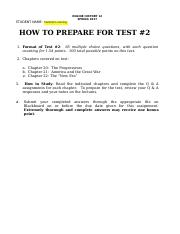 HIST 12 ONLINE Q AND A FOR TEST # 2 - SPRING 2017 (1)