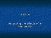 Assesing the effect of intervention (NNT, ARR).ppt