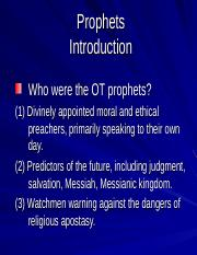 22-Minor Prophets.ppt