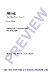 Recommended Reading (4)  --- Attitude