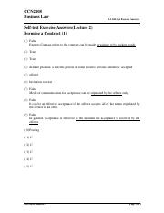 L2 Self-test Exercise (Ans) - Forming a contract (1)