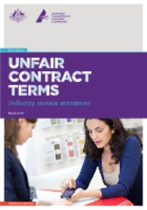 Unfair Contract Terms - Industry Report.pdf