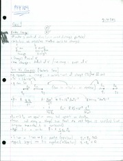 PHY104_Class1_&_Lecture1_Notes_Charge_&_Electric_Fields_PartI