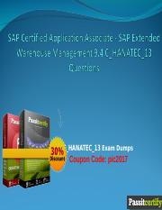 SAP Afaria 7 0 Administration C_AFARIA_02 Exam Dumps ppt