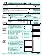 2015 Form 1040 (Schedule D) Capital Loss - SCHEDULE D(Form 1040 ...