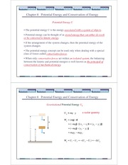 General Physics(ppt) Ch 8