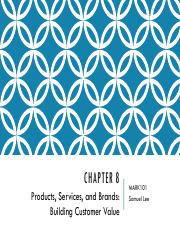 Topic 8 - Chapter 8 Products, services and brands.pdf