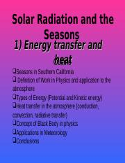 3-Solar Radiation and the Seasons_2011.ppt
