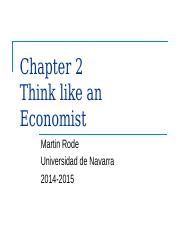 2) Think like an Economist.ppt